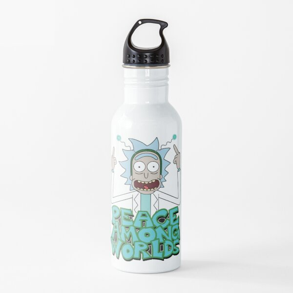 "Rick and Morty ""Peace Among Worlds"" Water Bottle"