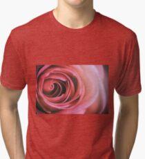 Rose Faded Tri-blend T-Shirt