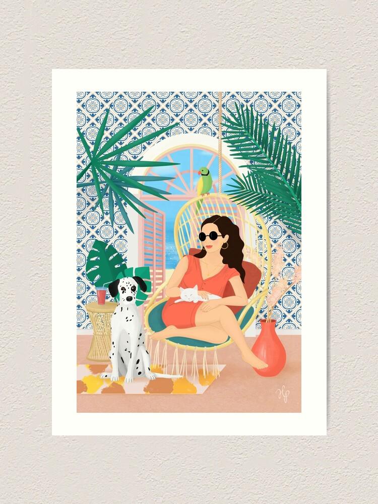 Alternate view of Swing Art Print