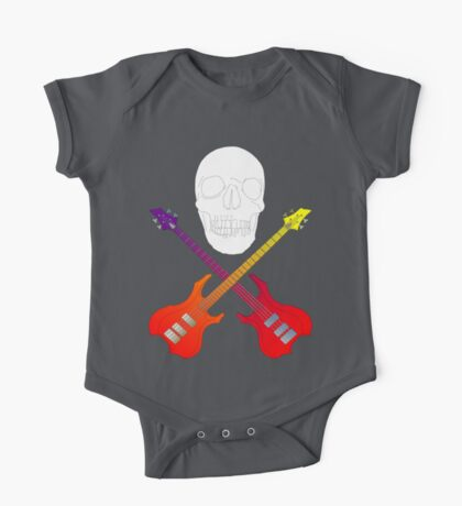 guitar cross bones  Kids Clothes