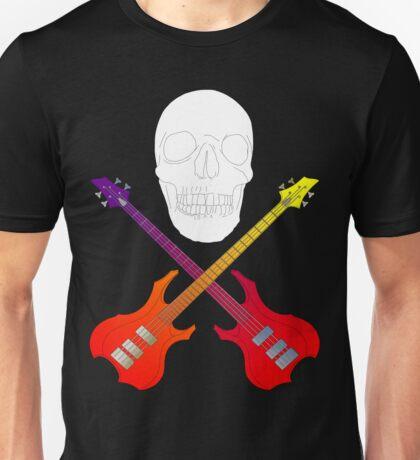 guitar cross bones  T-Shirt