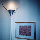 lamp and picture  by candace lauer