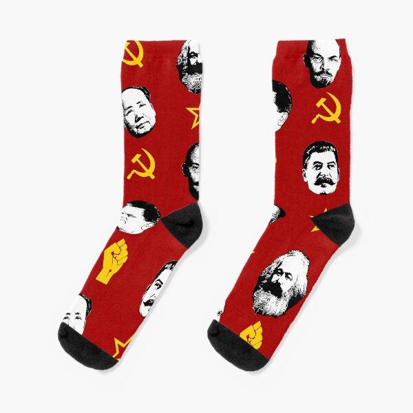 Communist Leaders Socks