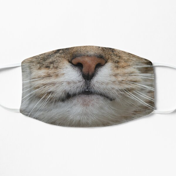 A mask from my cat Ruby Flat Mask