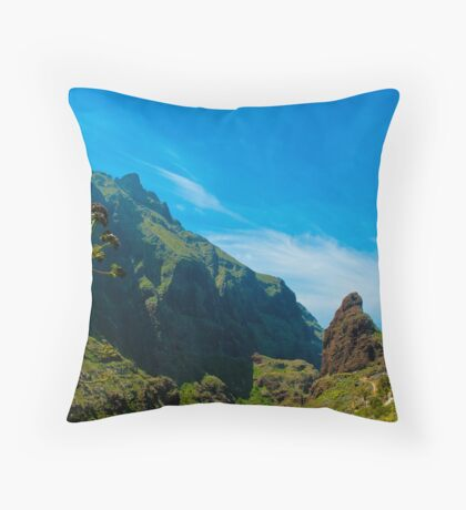 Masca - the most beautiful place on earth Throw Pillow