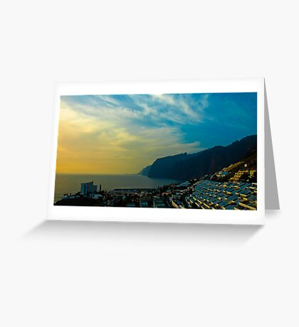 Los Gigantes, Tenerife Greeting Card
