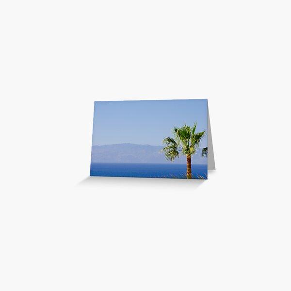 La Gomera, Islas Canarias Greeting Card
