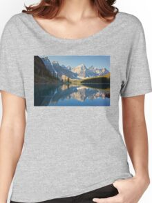 Lake Moraine - Alberta, Canada Women's Relaxed Fit T-Shirt