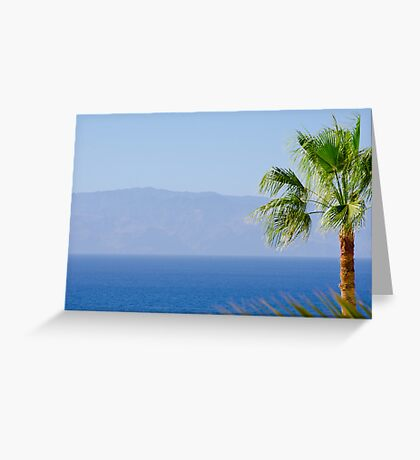 La Gomera Greeting Card
