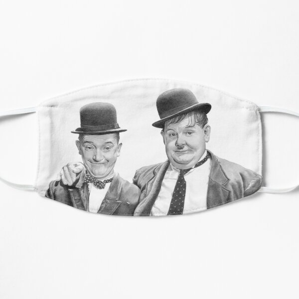 Laurel and Hardy. Mask