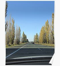 Canberra Turnoff (from Hume Hwy, NSW) Poster