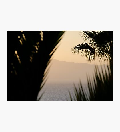 Abstract - Los Gigantes Photographic Print
