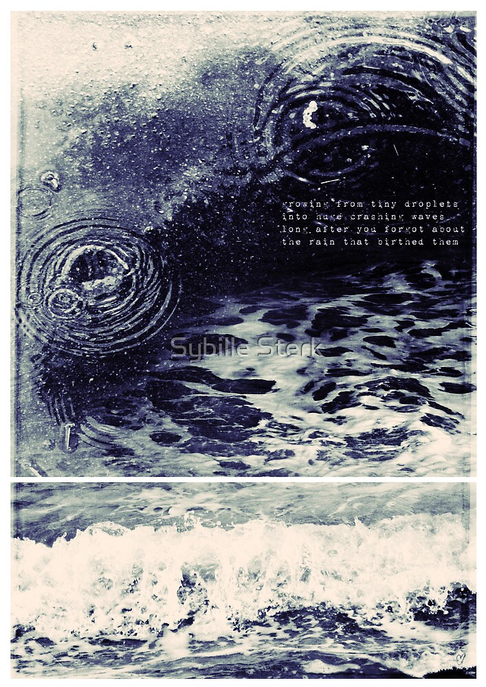 Ripples and Wave by Sybille Sterk