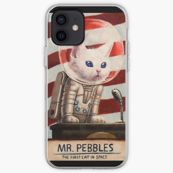 MR PEBBLES - Alta calidad Funda blanda para iPhone