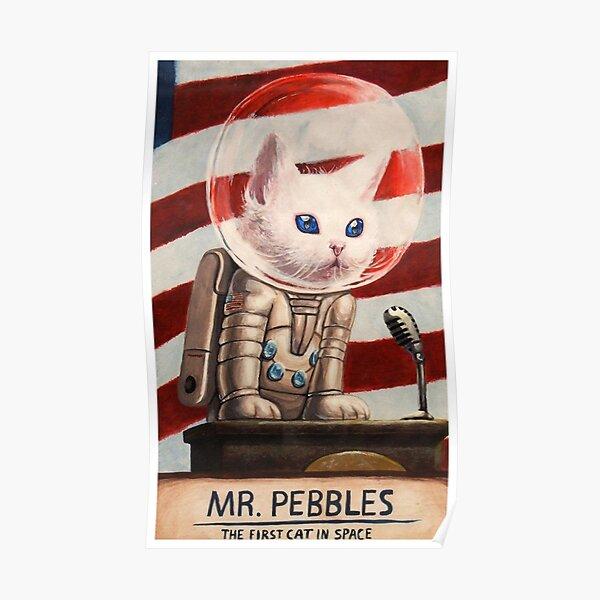 MR PEBBLES - Alta calidad Póster