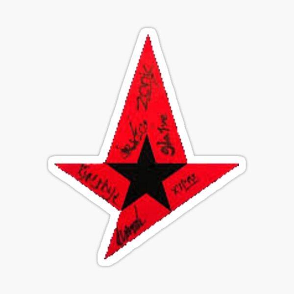 Astralis Logo w/ signatures Sticker