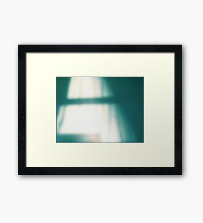 Day Dream-Abstract Poetic landscape Framed Print