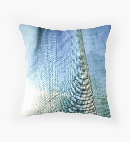 Day Dream-Abstract Poetic landscape Throw Pillow