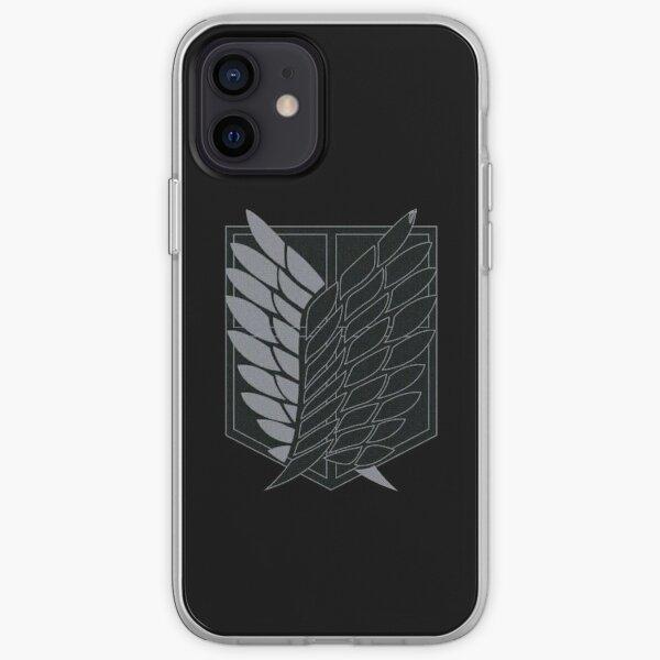 Exploration Battalion - SNK - B&W iPhone Soft Case