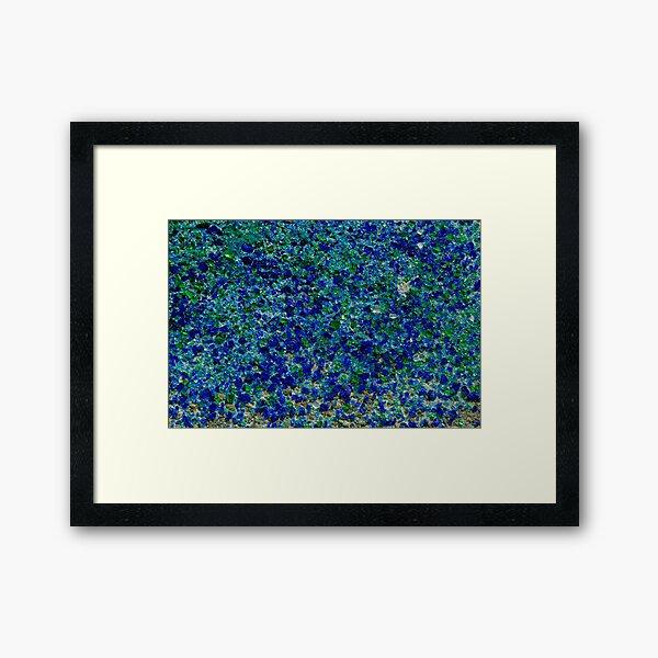 Glasland # 4 Gerahmter Kunstdruck