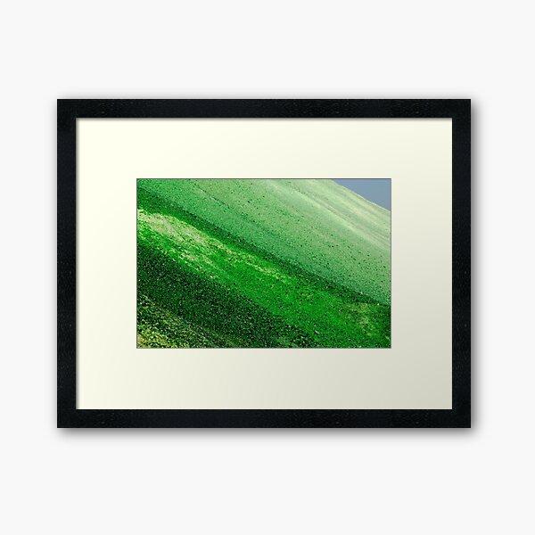 Glasland # 44 Gerahmter Kunstdruck