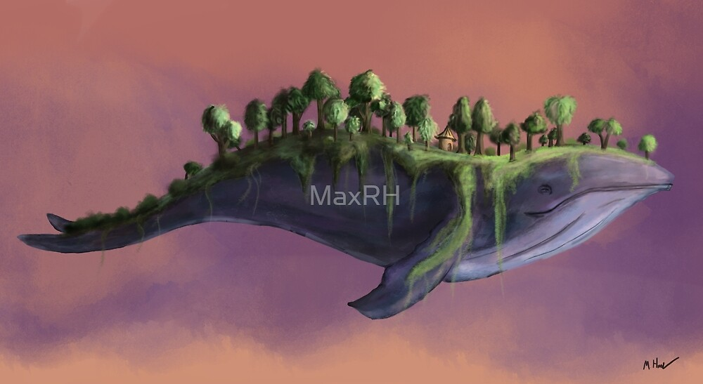 Whale by MaxRH