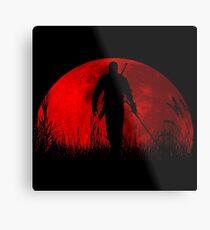 Red moon v2 Metal Print