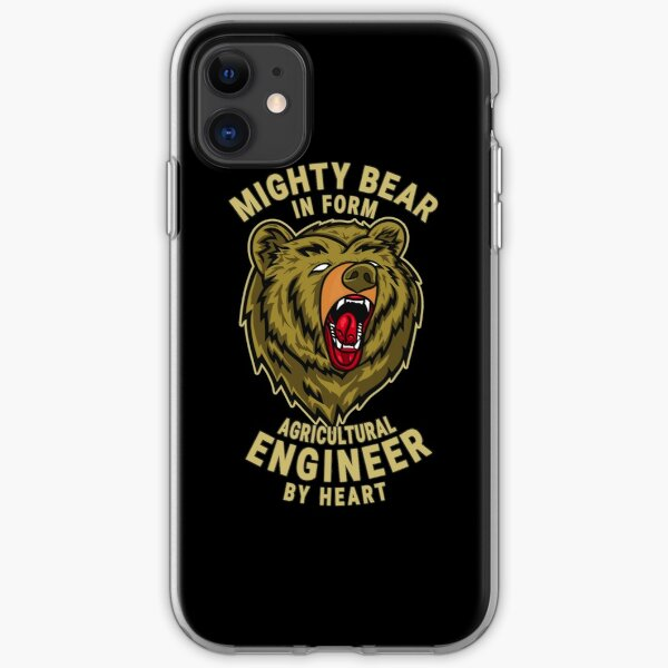 Agricultural Engineer Mighty Bear Chief Executive Officer Design Quote iPhone Soft Case
