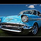 Perfect 57 Chevvy by Keith Hawley