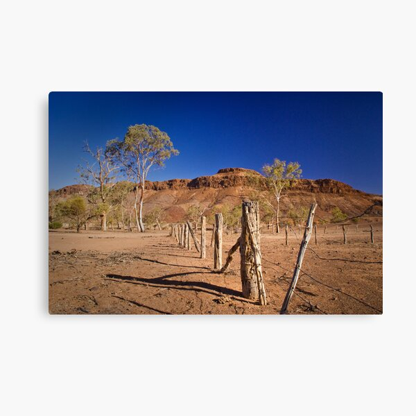 Holding yards in Chambers Gorge Canvas Print