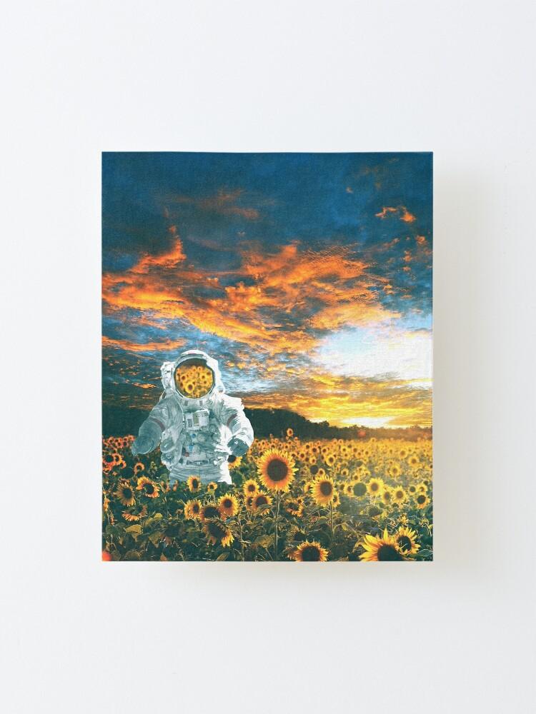 Alternate view of In a galaxy far, far away Mounted Print