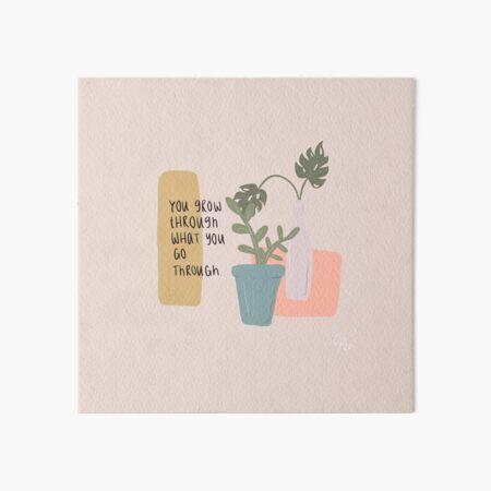self love plants Art Board Print