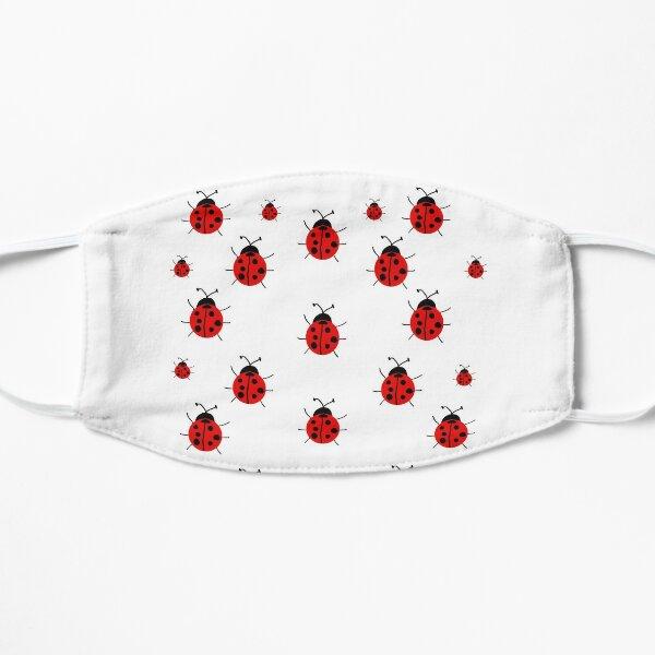 Ladybug Pattern Flat Mask