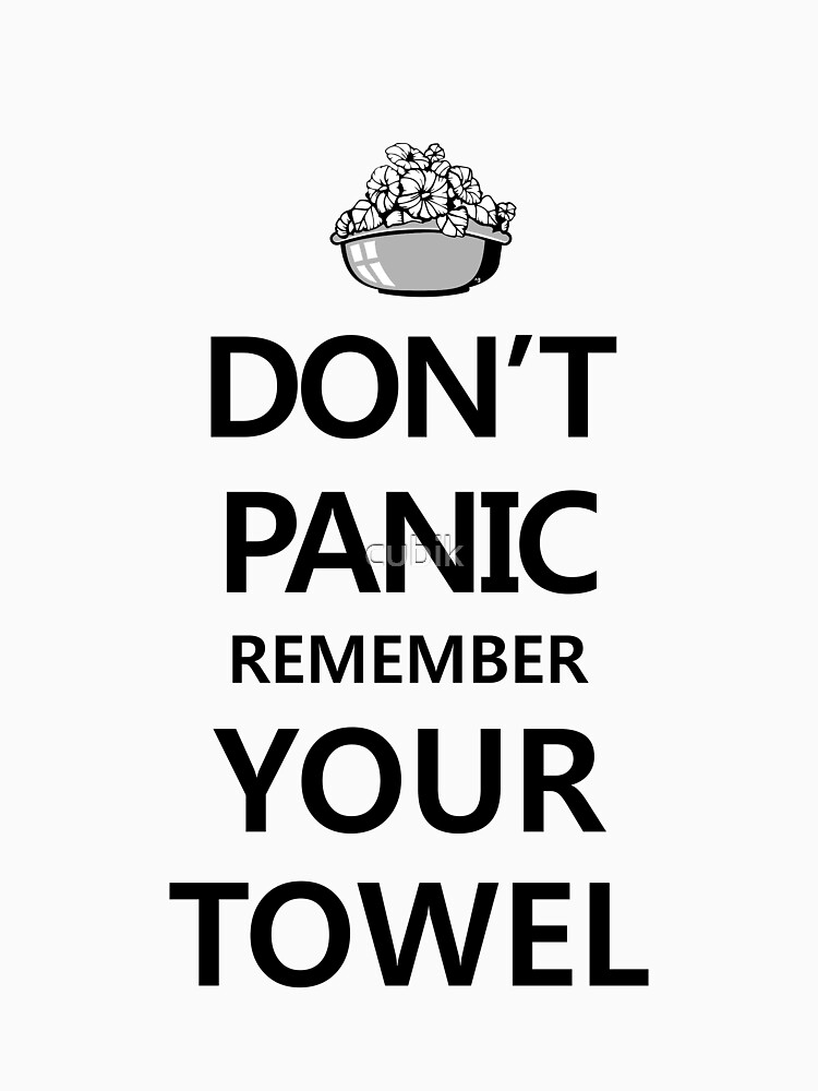 DON'T PANIC! Again... by cubik