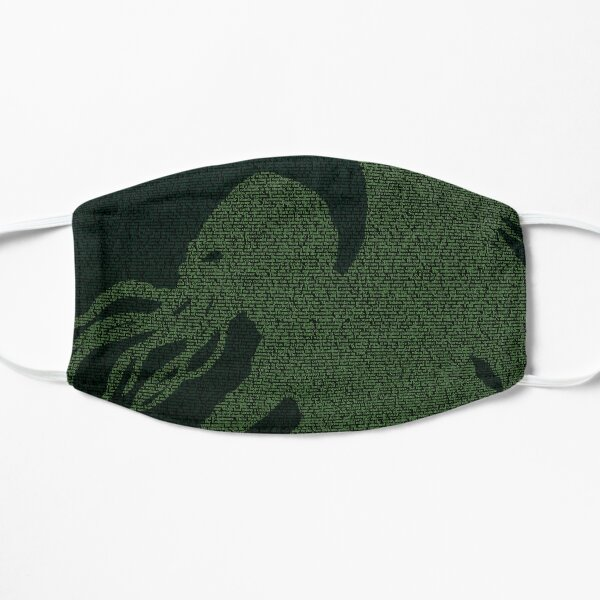 The Horror Between the Lines - Cthulhu Flat Mask