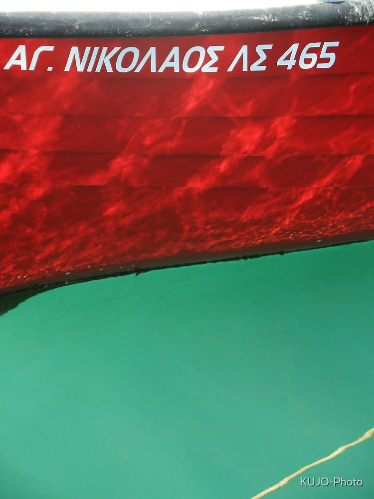 Red Boat, Agios Nikolaos by KUJO-Photo