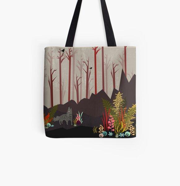 Sonnentanz Allover-Print Tote Bag