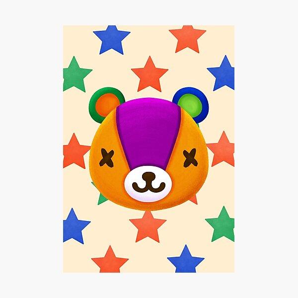 Stitches Animal Crossing Photographic Print