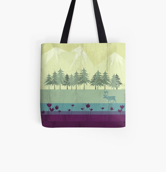 Wildlife All Over Print Tote Bag