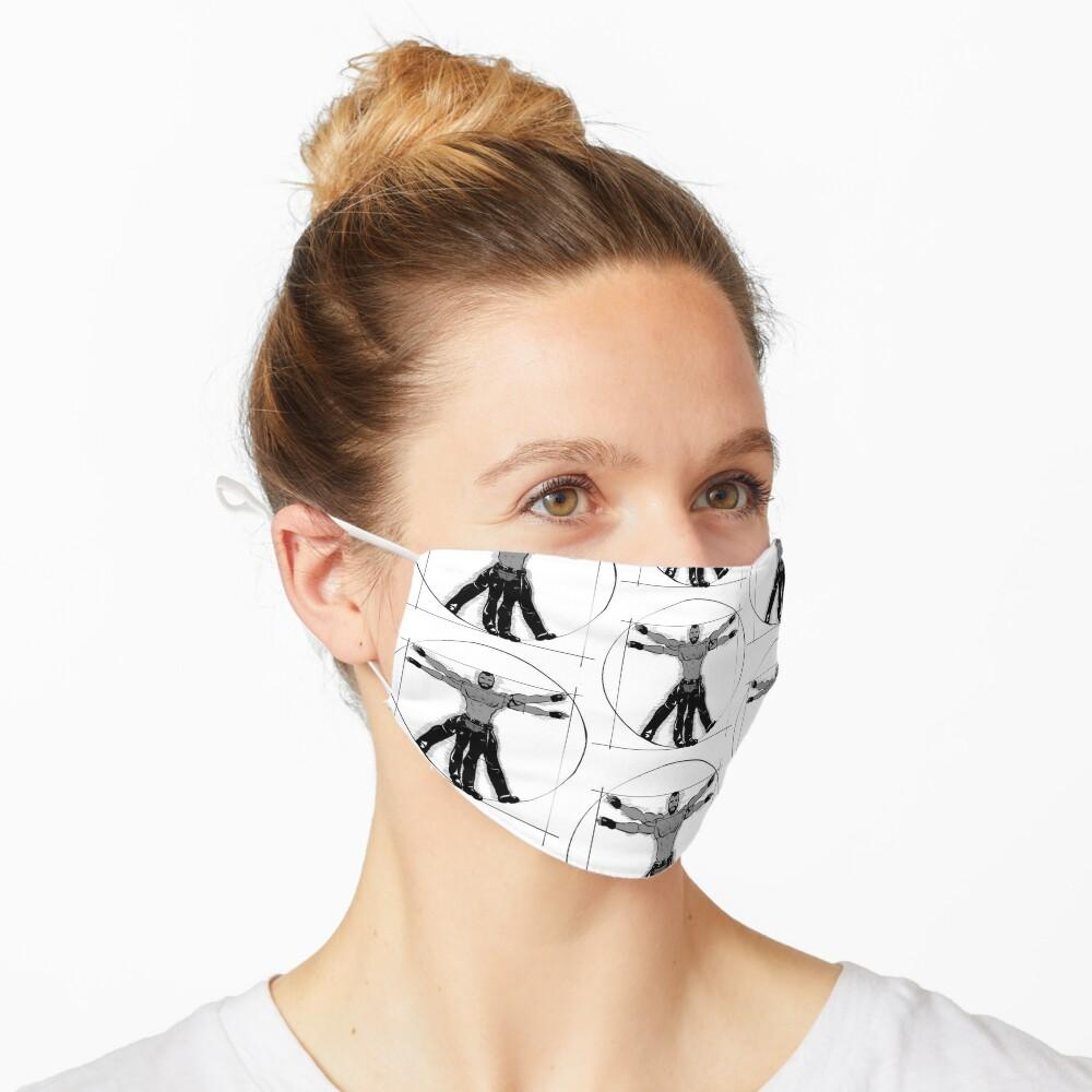 Gay Vitruvian Man Mask