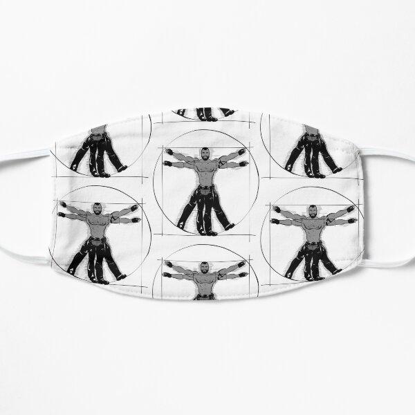 Gay Vitruvian Man Flat Mask