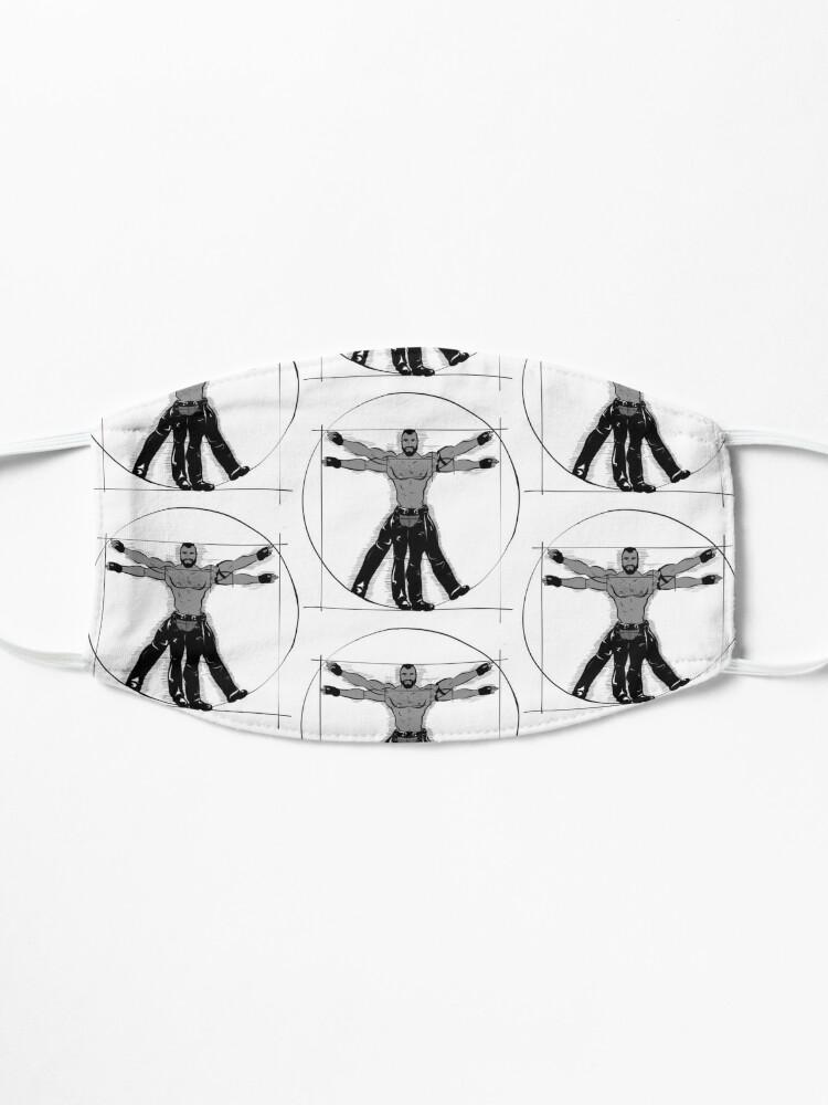 Alternate view of Gay Vitruvian Man Mask