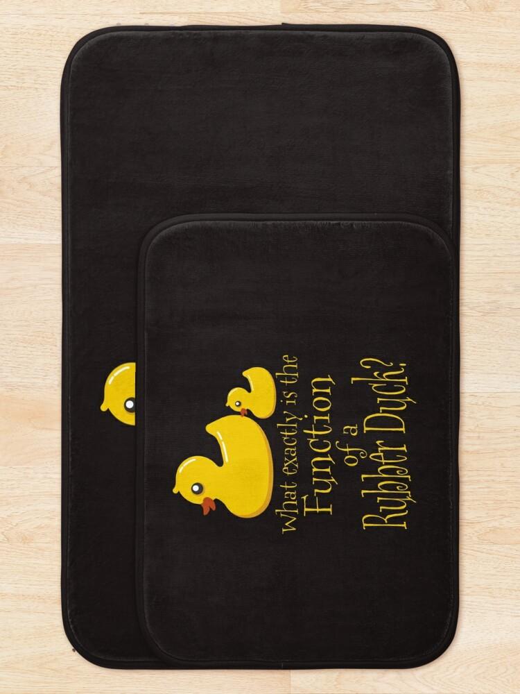 Alternate view of Rubber Ducky Bath Mat