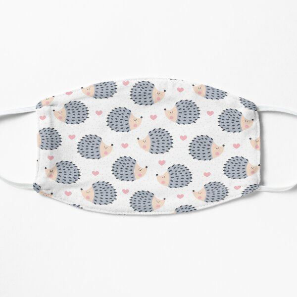 Face Mask with Hedgehogs Pattern Mask