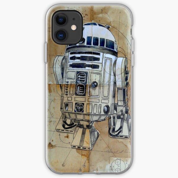 astromech droid iPhone Soft Case