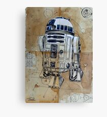 astromech droid Canvas Print