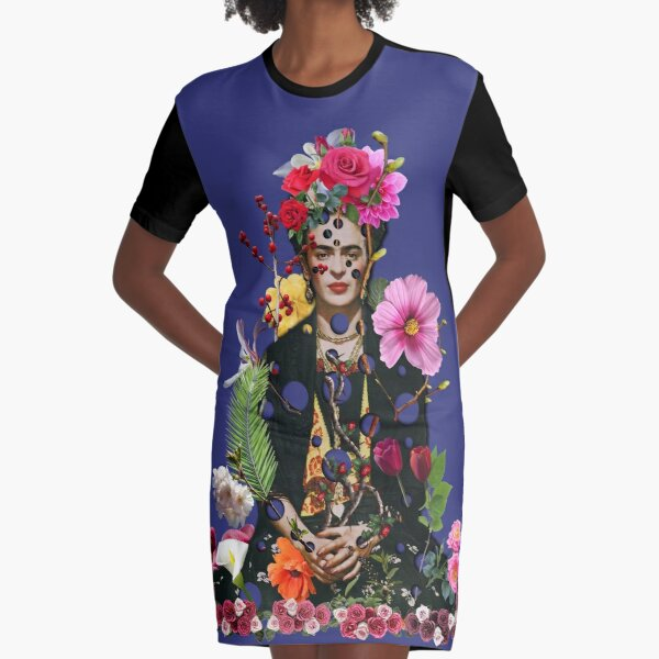 I am my own muse. I am the subject I know best. The subject I want to better. Graphic T-Shirt Dress
