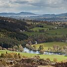 River Glass and Beauly Firth by kernuak