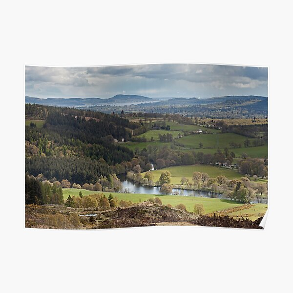 River Glass and Beauly Firth Poster