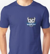 The Mid-World Bumblers - chest Unisex T-Shirt